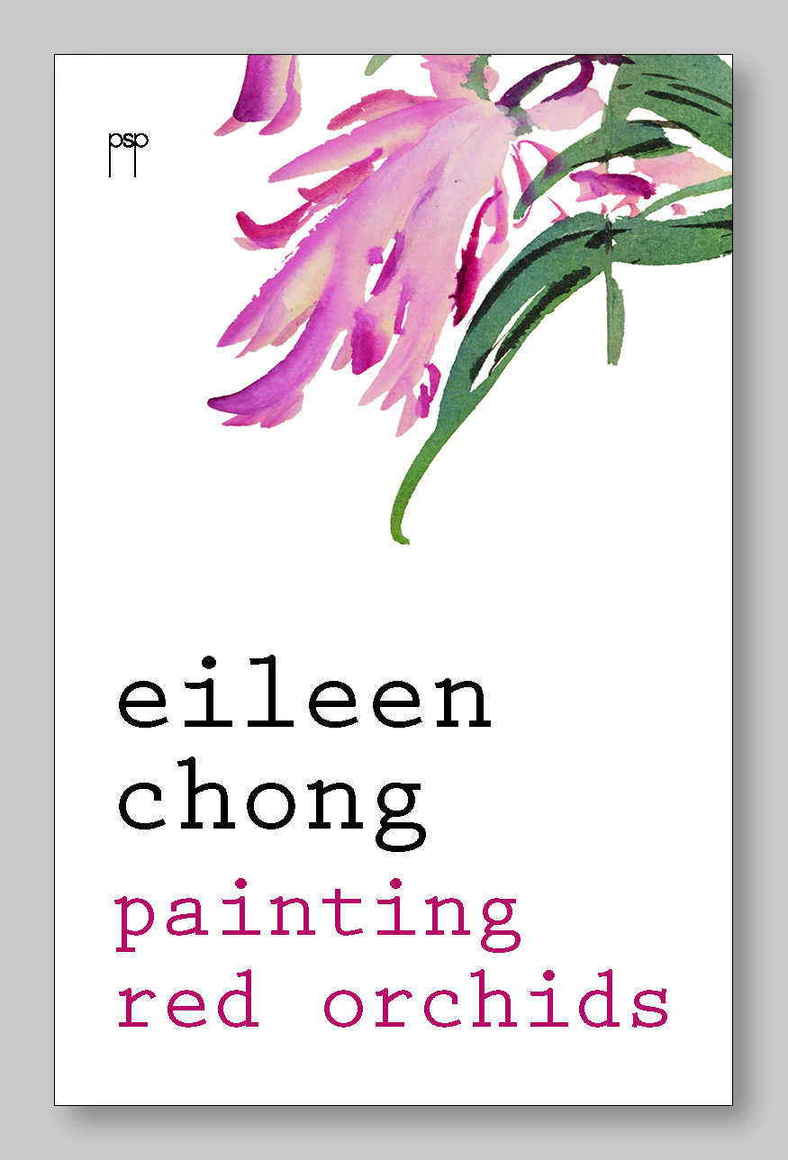 Book cover of Painting Red Orchids by Eileen Chong