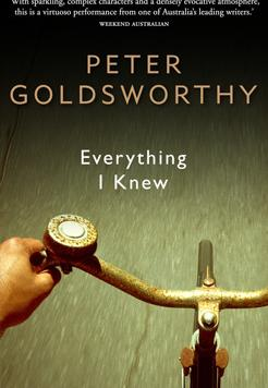 Book cover- Everything I knew by Peter Goldsworthy