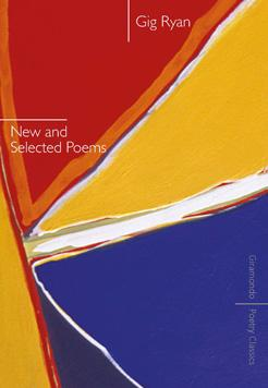 Book cover - New and Selected Poems by author Gig Ryan