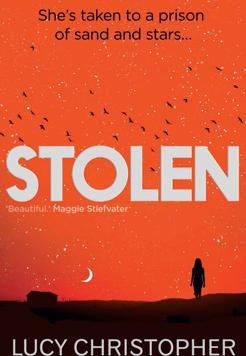 Book cover - Stolen: A Letter to My Captor by Lucy Christopher