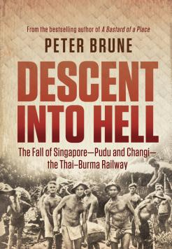 Book cover Descent into Hell by Peter Brune