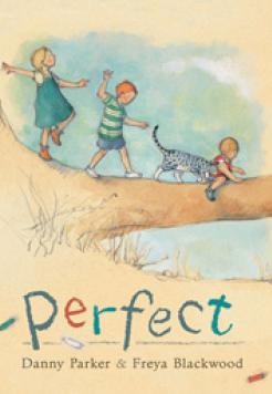 Book cover - Perfect by Danny Parker and illustrated by Freya Blackwood.
