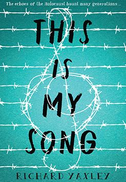 Book cover - this is my song by Richard Yaxley.