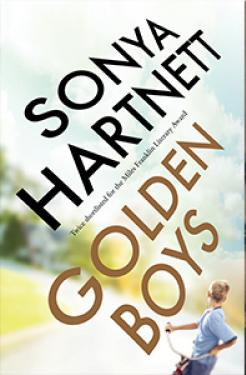Book cover image: Golden Boys by Sonya Hartnett.