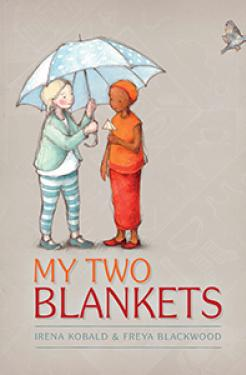 Book cover - My two blankets - Irena Kobald.