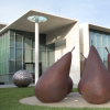 Pear - version number 2, 1973, outside the National Gallery of Australia