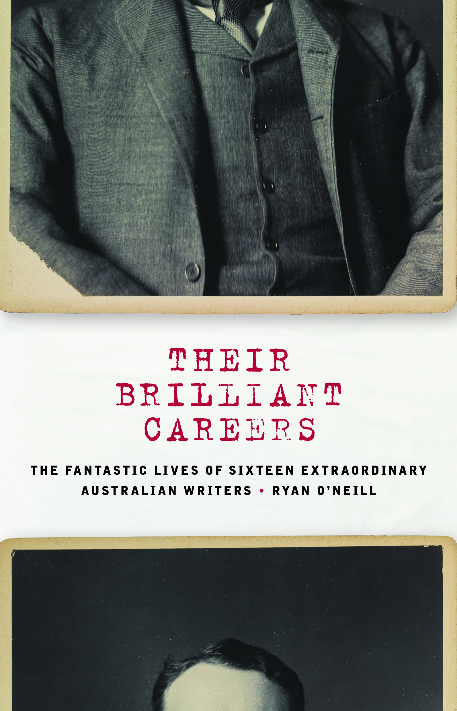 Book cover of Their Brilliant Careers by Ryan O'Neil